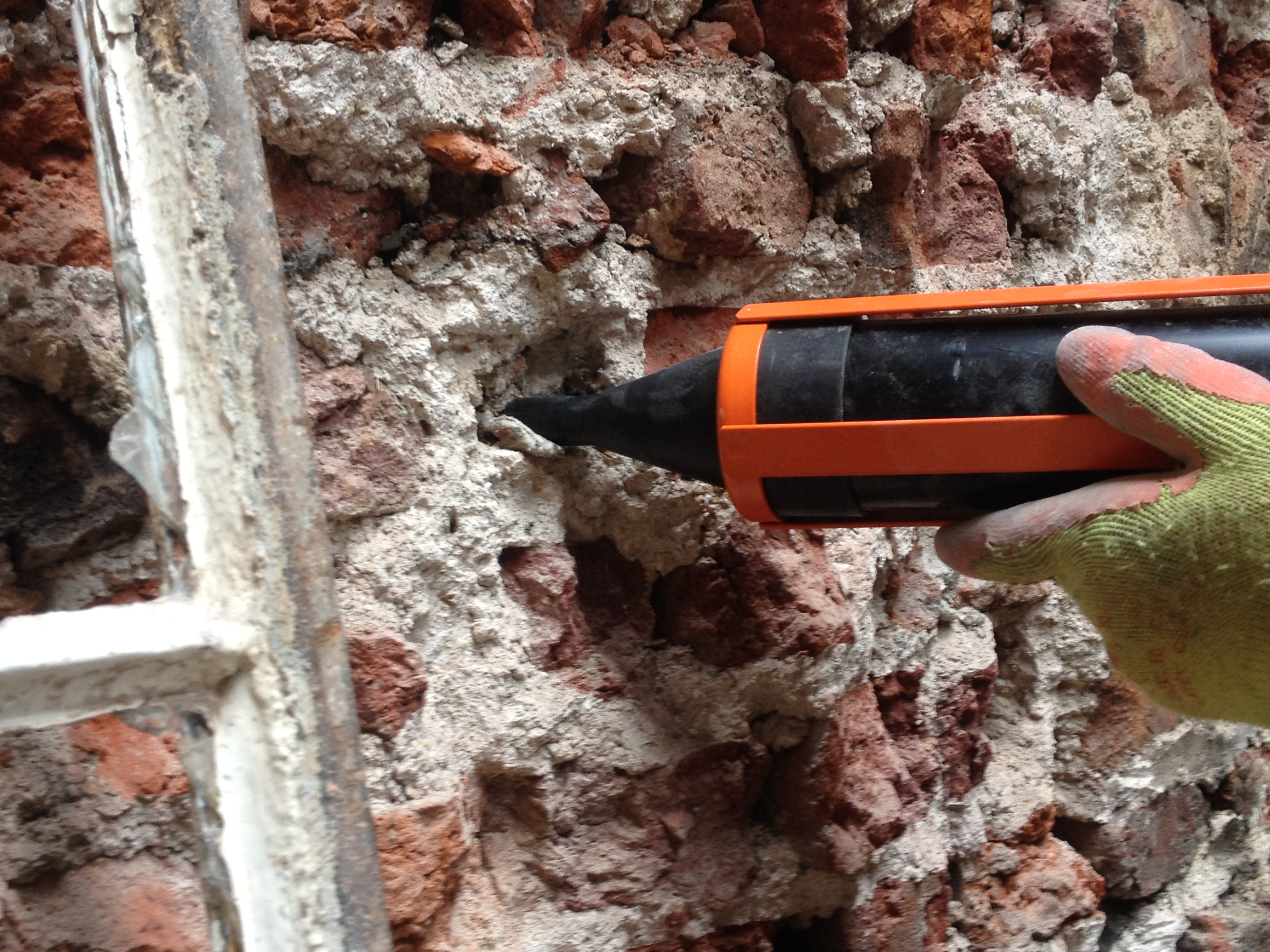 Brick work repair